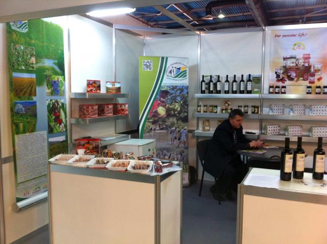 NTG's stand at FoodTech and Winery expo in Plovdiv 2012 (photo by Vladislav Popov)