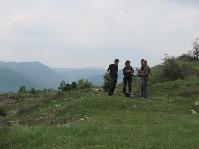 Crossbill Guide's team, that makes the guidebook for Eastern Rhodopes (pic. Iva Tontcheva)