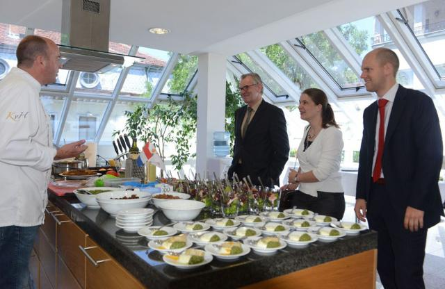 Cooking days with organic and Eastern Rhodopean products, second day - Dutch embassy (pic. Iva Tontcheva)