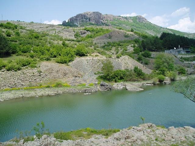 Arda river after the dam of Studen kladenets reservoir (by Mihaela Kircheva)